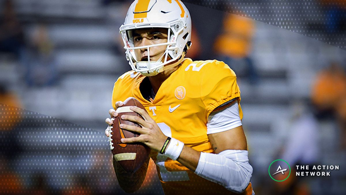 How to Bet Tennessee-UTEP: Vols' Issues Point to Over article feature image
