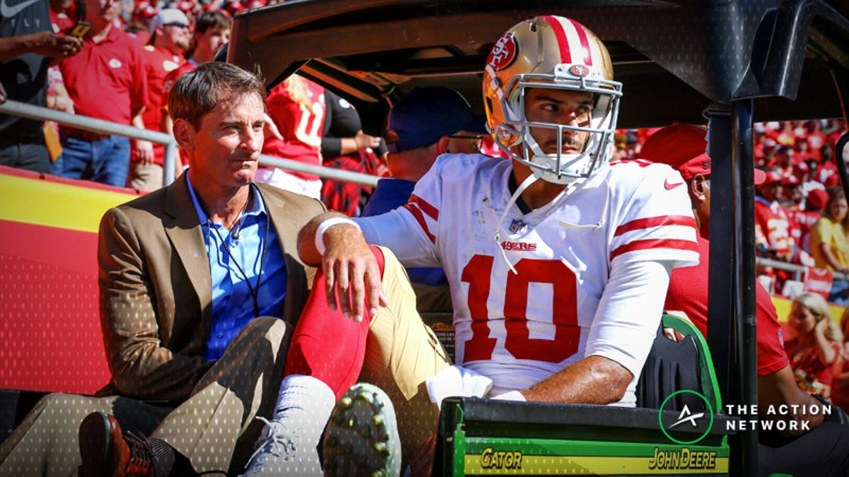 Biggest NFL Week 3 Takeaways: Garoppolo Injury Fallout, Luck's Struggles, More article feature image