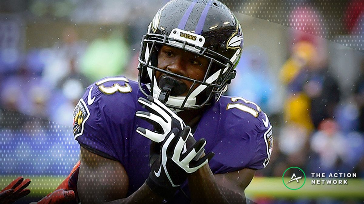Week 4 Fantasy Football Trade Targets: John Brown is the WR to Own in Baltimore article feature image