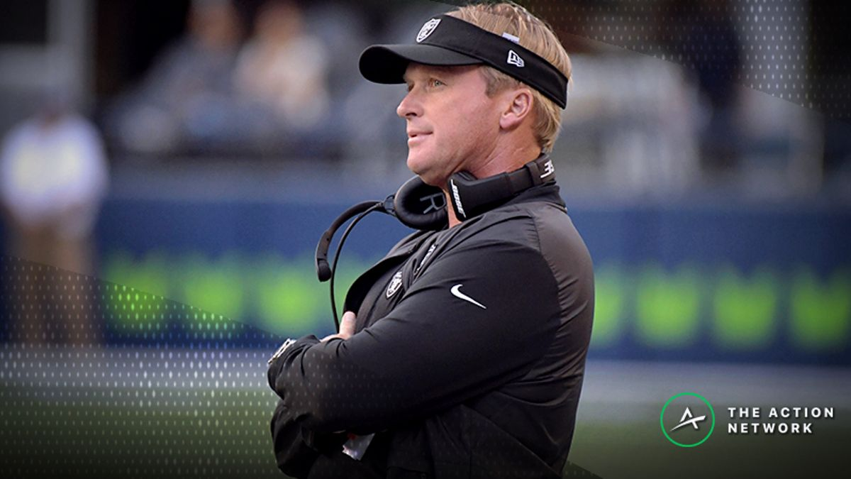 Rams-Raiders Betting Preview: Fade the Public and Bet on Jon Gruden? article feature image