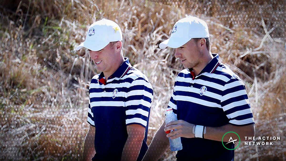 2018 Ryder Cup Odds: Day 1 Fourball Matches article feature image