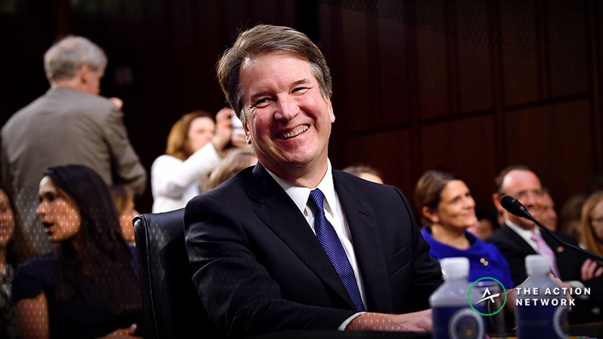 Kavanaugh Odds: Confirmation a Virtual Lock According to Betting Market article feature image