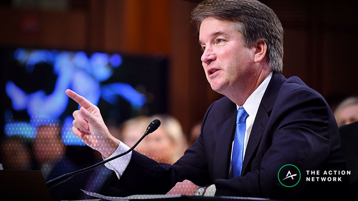 Friday's Lead: Kavanaugh Confirmation Odds Roller Coaster article feature image