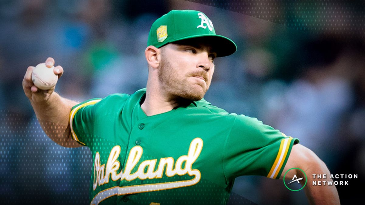 Friday's MLB Over/Under: Exploring an Oakland A's Bullpen Game article feature image