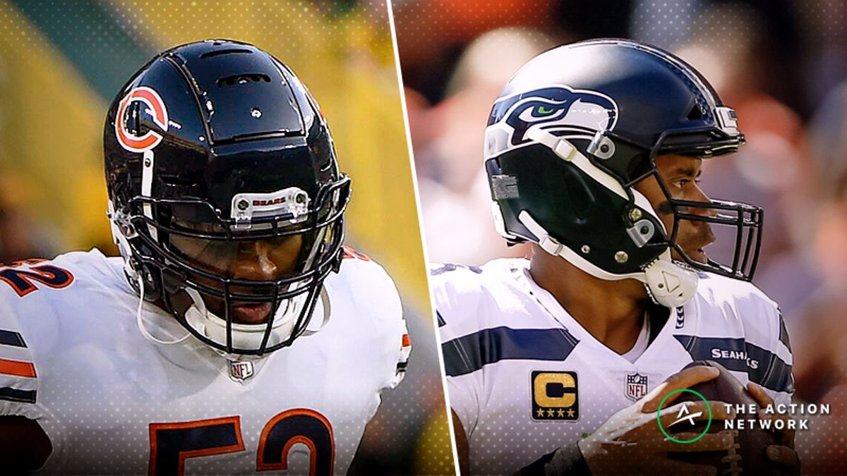 Seahawks-Bears MNF Betting Guide: Will Seattle's Injuries Be Too Much to Overcome? article feature image