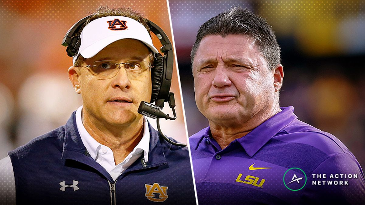 Auburn-LSU Betting Guide: Time for Joe Burrow to Get Exposed article feature image