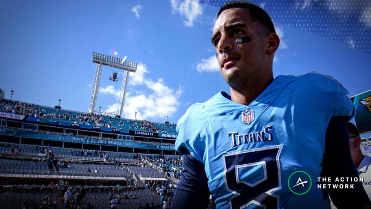 Eagles-Titans Betting Preview: Value on Marcus Mariota as Home Underdog? article feature image