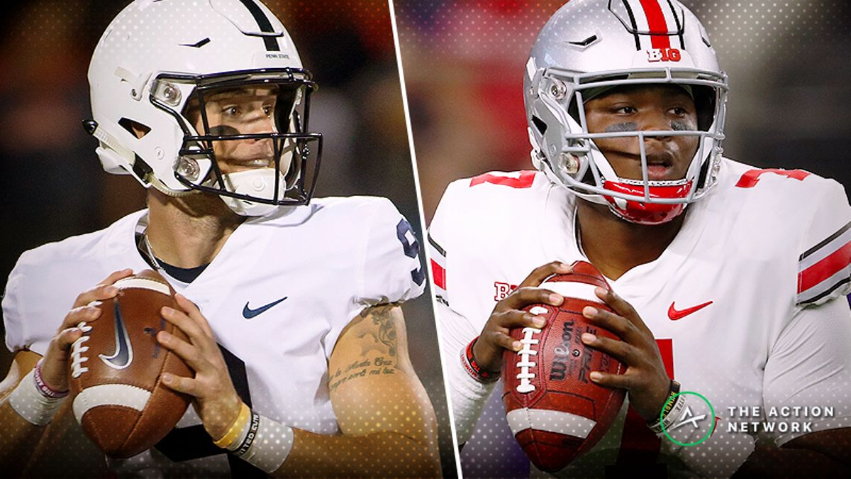 Ohio State-Penn State Betting Guide: Public Too High on Nittany Lions? article feature image