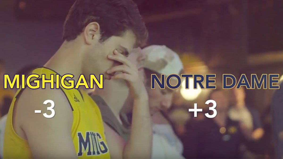 Kick Off The Action, Episode 1: Michigan at Notre Dame article feature image