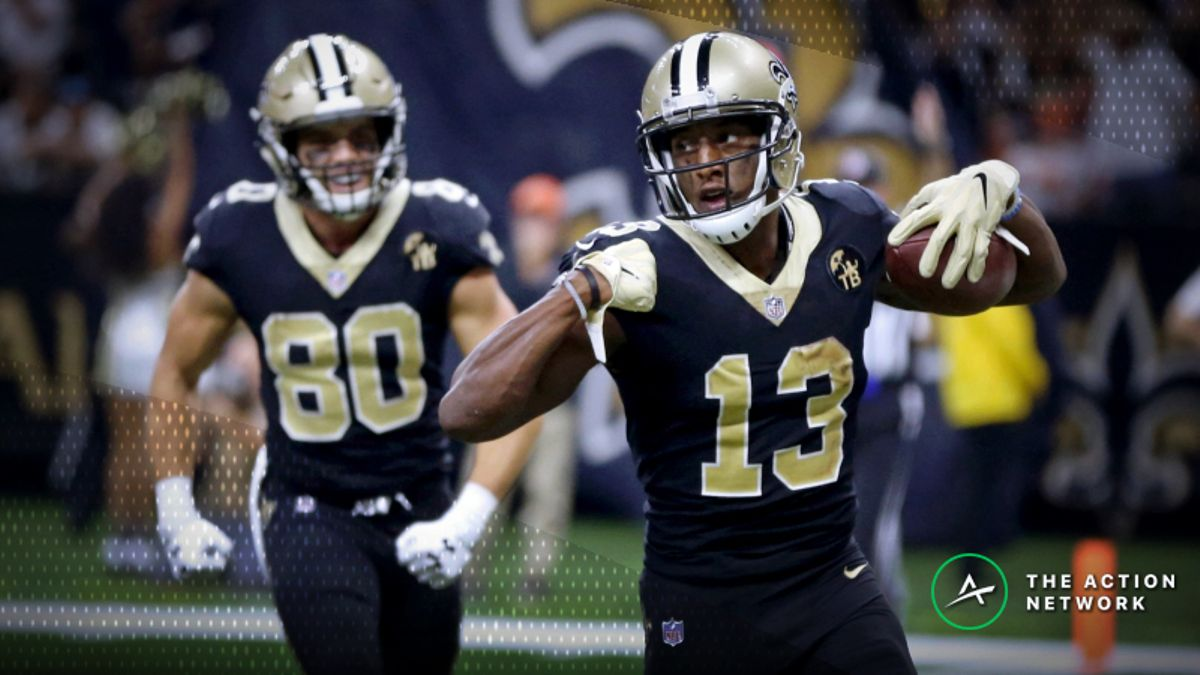 Week 4 NFL Player Props: Should You Bet on Michael Thomas to Reach 10 Receptions … Again!? article feature image