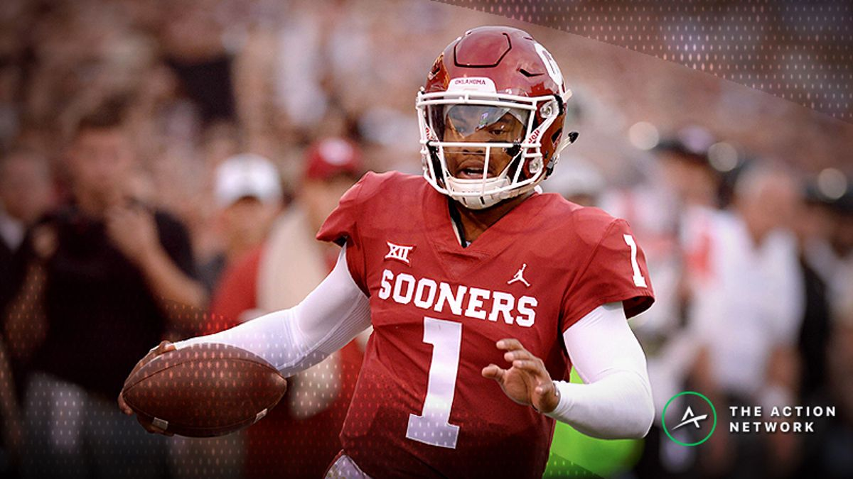 Oddsmakers Moving Baylor-Oklahoma Line Following Kyler Murray Suspension article feature image