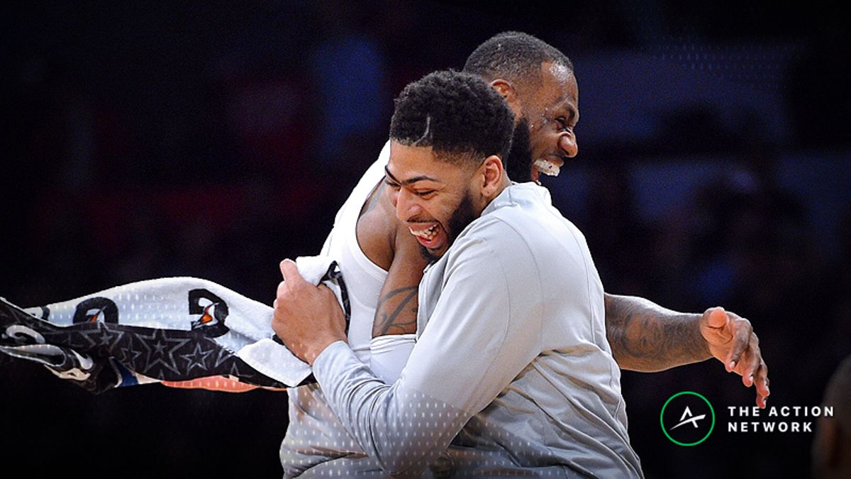 Los Angeles Lakers Favored to Land Anthony Davis Next Season article feature image