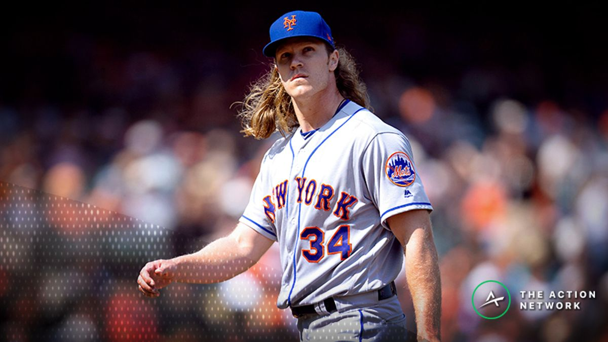 Saturday's MLB Over/Under: Syndergaard, Eflin Duke It Out In Queens article feature image
