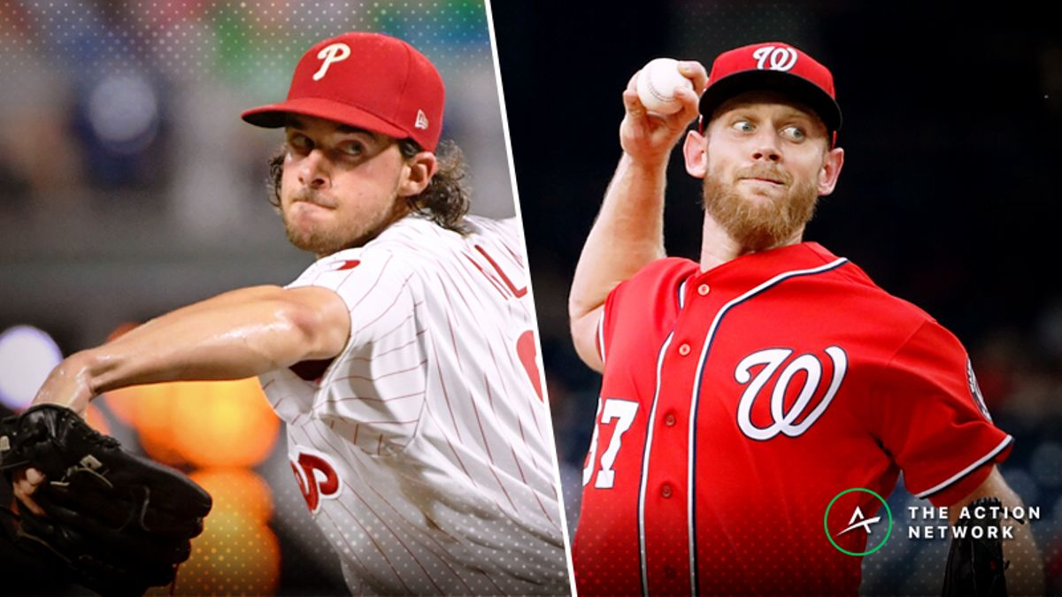 Wednesday's MLB Over/Under: Battle of Aces Aaron Nola and Stephen Strasburg article feature image
