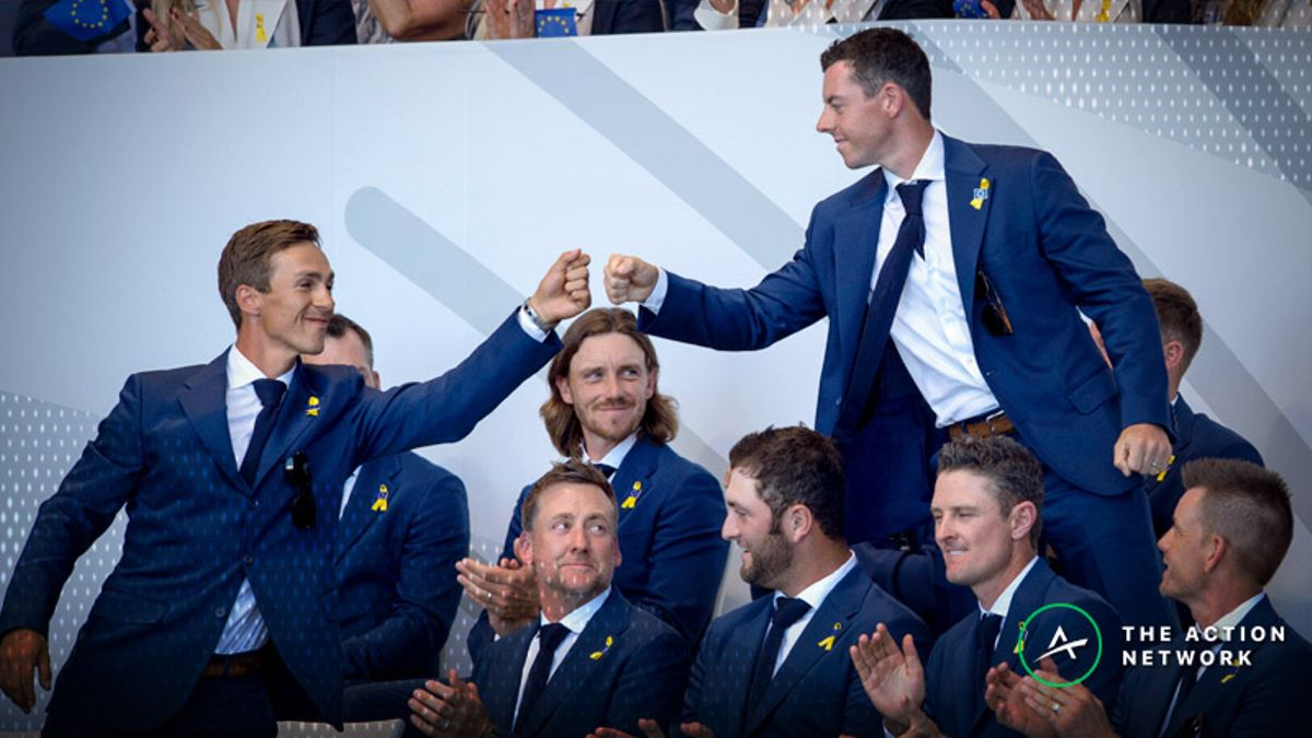 Sobel: My Favorite Wagers For Day 1 of the Ryder Cup article feature image
