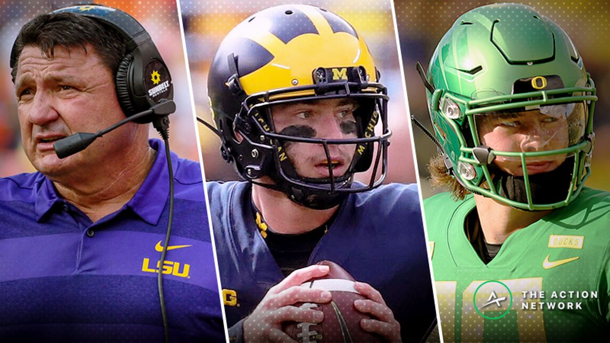 2018 College Football Rankings, Week 5: Comparing Vegas Ratings, AP Poll Top 25 article feature image