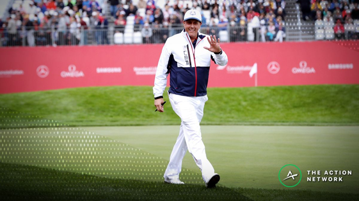 2018 Ryder Cup Preview: Will Phil Mickelson's Experience Provide an Edge? article feature image