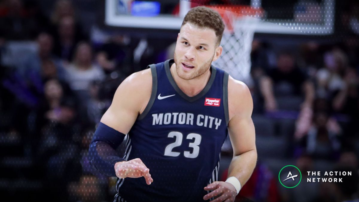 Pistons 2018-19 Season Win Total: Can Blake Griffin Make Detroit a Contender? article feature image