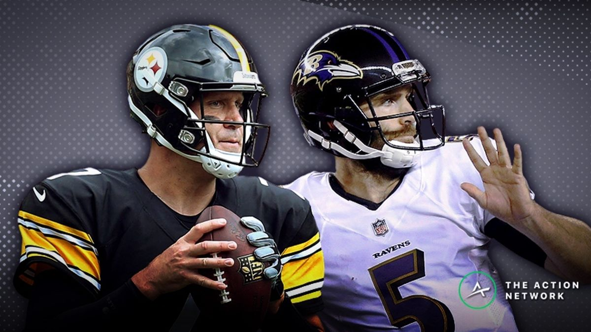 Ravens-Steelers SNF Betting Preview: Another Tight Game Brewing in Primetime? article feature image