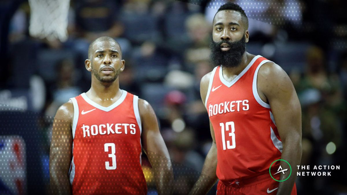 Rockets 2018-19 Season Win Total: Can the Rockets Win the West's Top Seed Again? article feature image