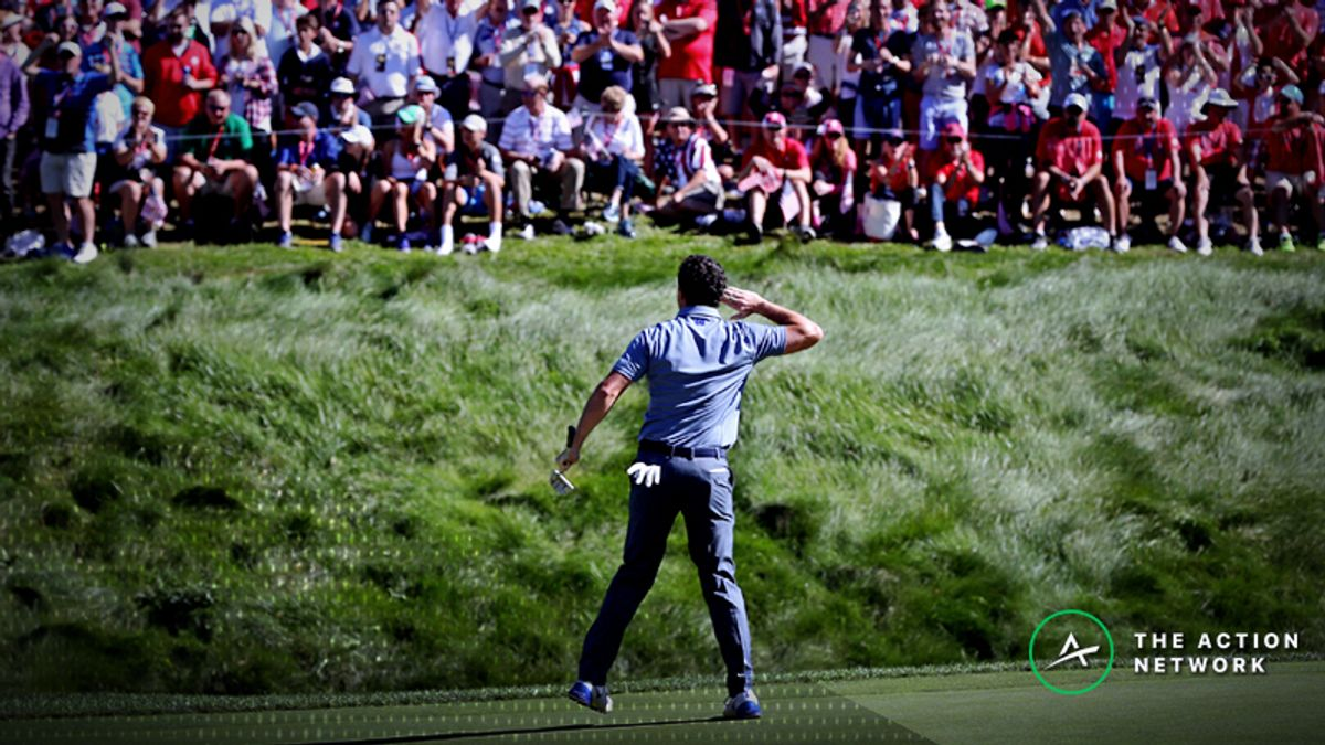 2018 Ryder Cup Preview: Rory McIlroy Has Excellent History vs. U.S. article feature image