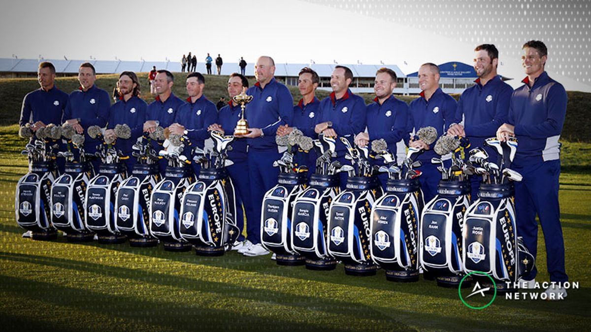 Ryder Cup Betting: Sportsbooks Starting To See Team Europe Money article feature image
