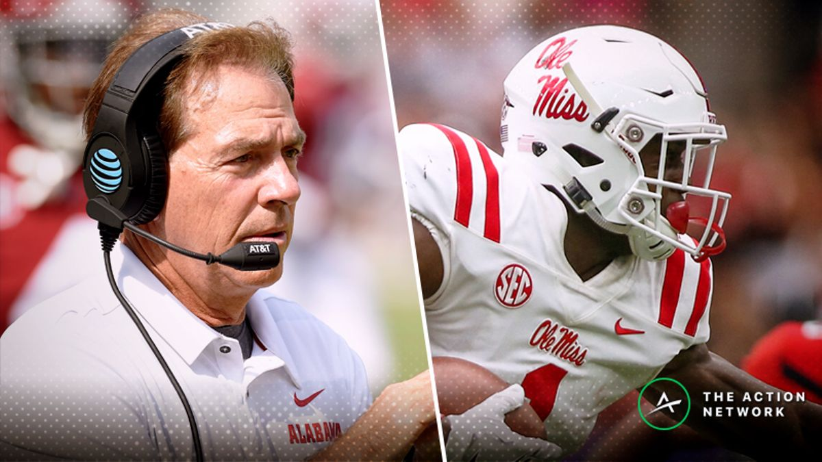 Alabama-Ole Miss Betting Guide: Rebels' Elite Offense Can Keep It Close article feature image