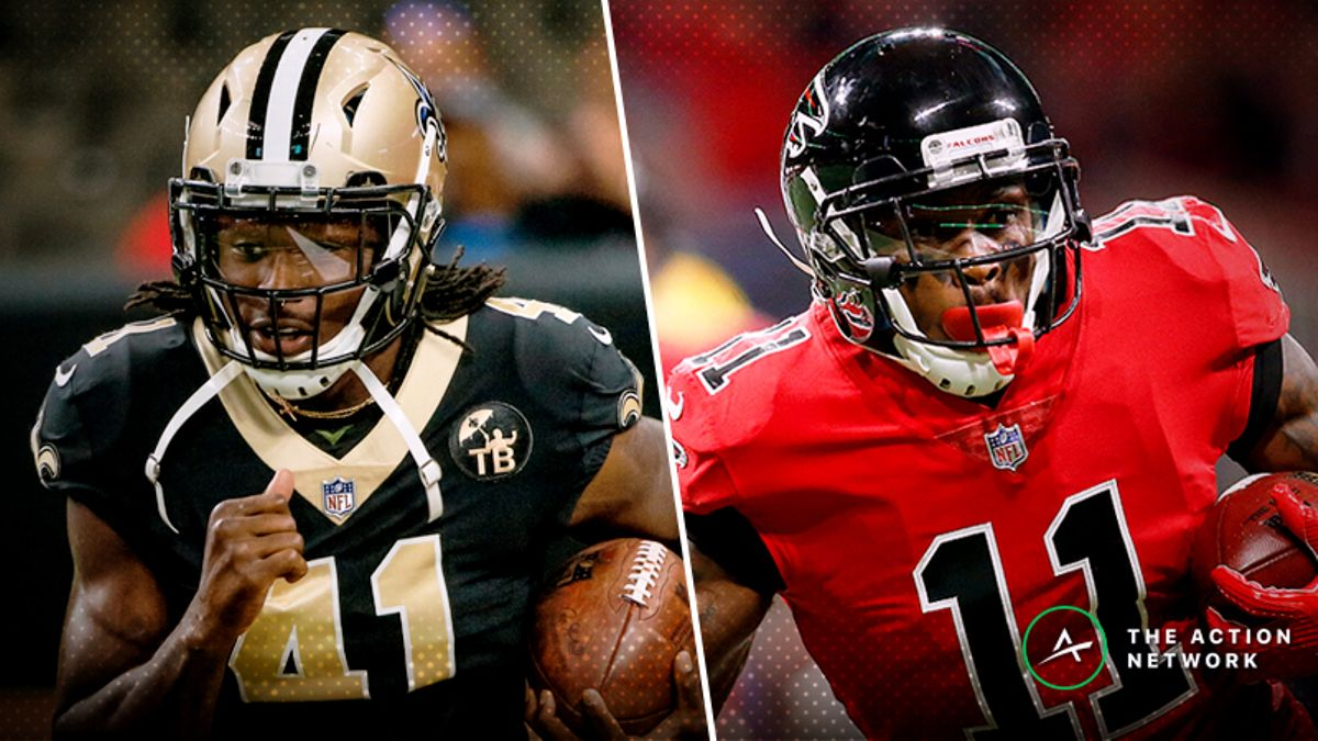 Saints-Falcons Betting Preview: Big-Money Wagers Pouring In article feature image