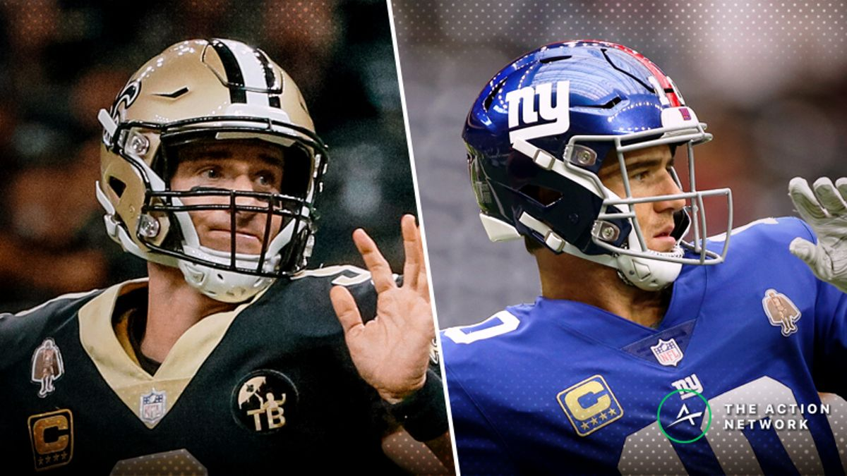 Saints-Giants Betting Preview: Should You Buy Brees & Co. After Big Win? article feature image