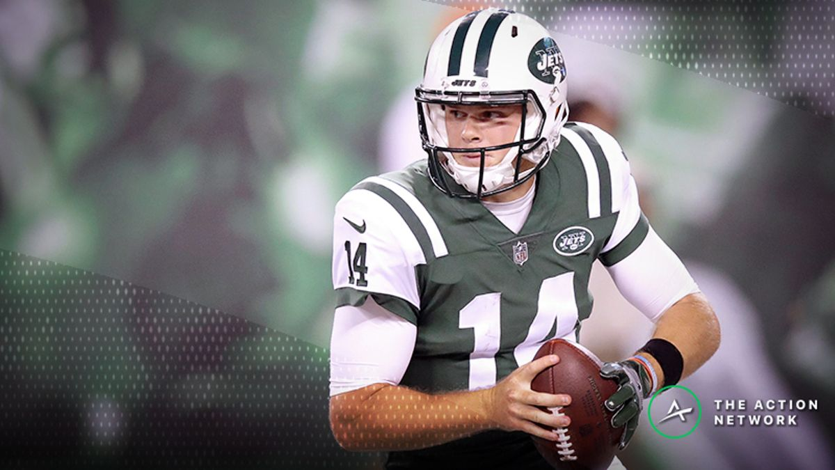 Jets-Lions Betting Preview: Can Darnold Pull off the Upset in Debut? article feature image