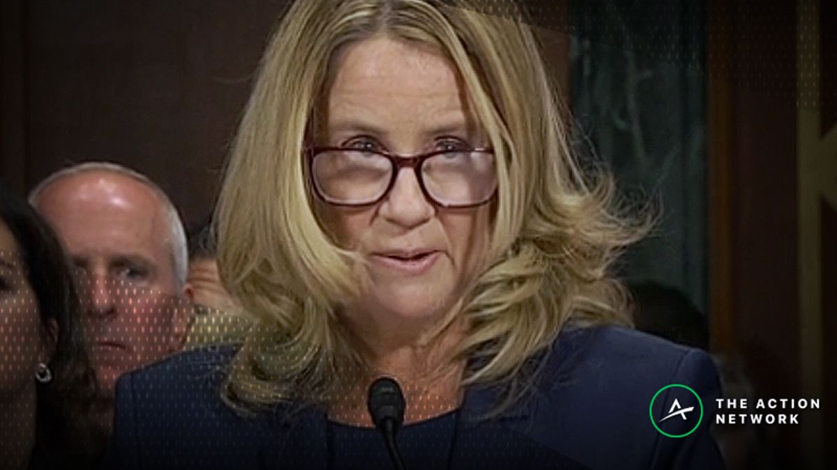 Kavanaugh Confirmation Odds Tank After Blasey Ford's Testimony article feature image