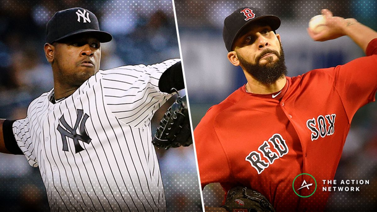 MLB Sharp Report: Red Sox-Yankees Among 3 Games Attracting Smart Money article feature image