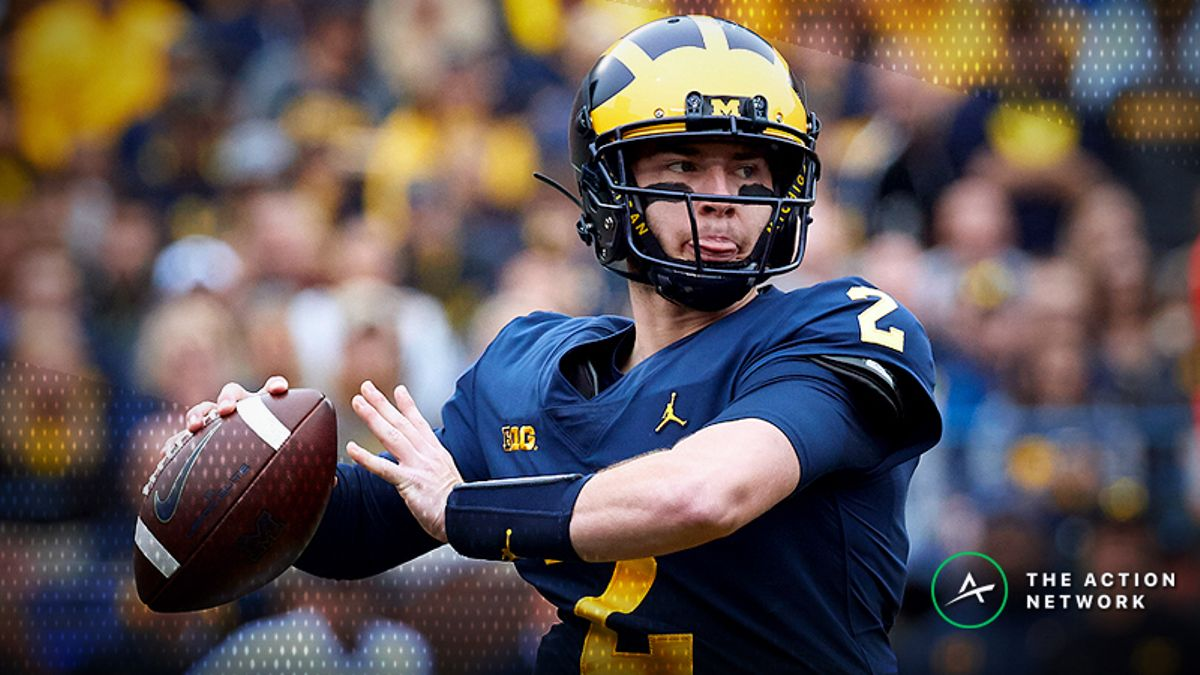 Michigan-Northwestern Betting Preview: Harbaugh Delivers as Road Favorite article feature image