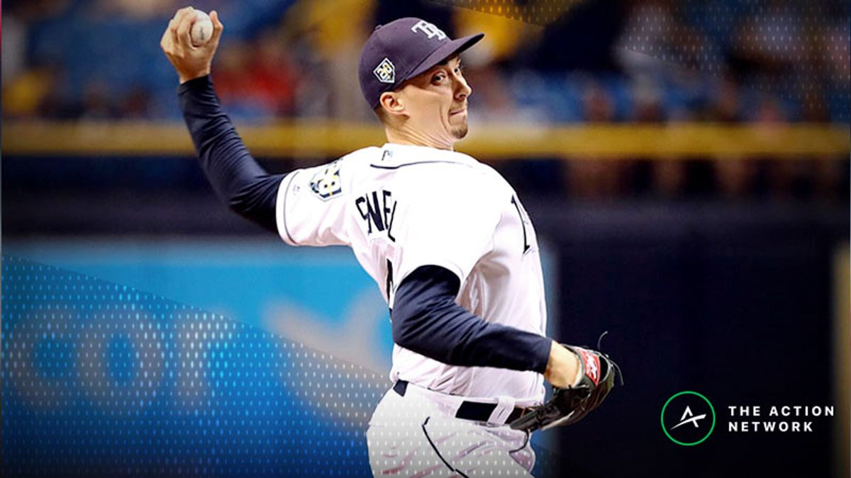 Sunday's MLB Over/Under: Blake Snell Continues Pursuit of Cy Young in Toronto article feature image