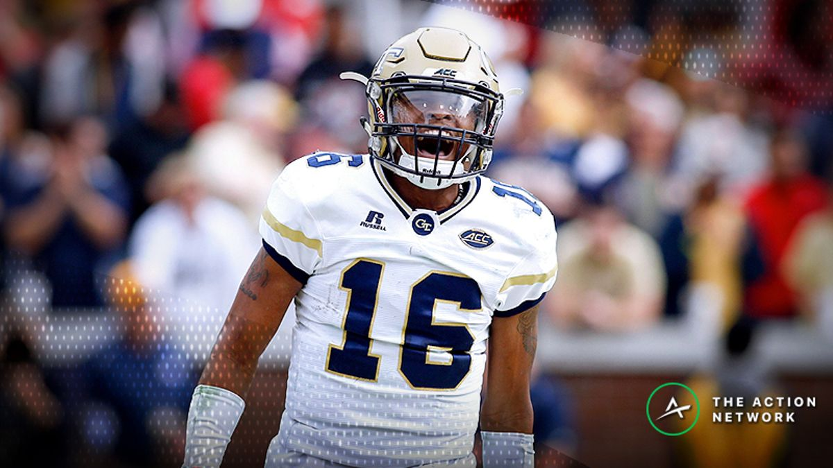 College Football Sharp Report: Pros Betting Clemson-Georgia Tech, 4 Other Games article feature image