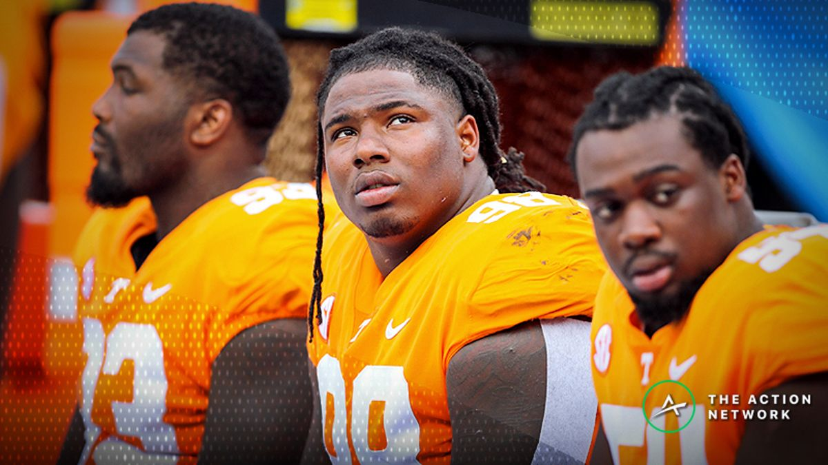 It's Impossible to Bet on Tennessee Right Now, Even if There's Value article feature image