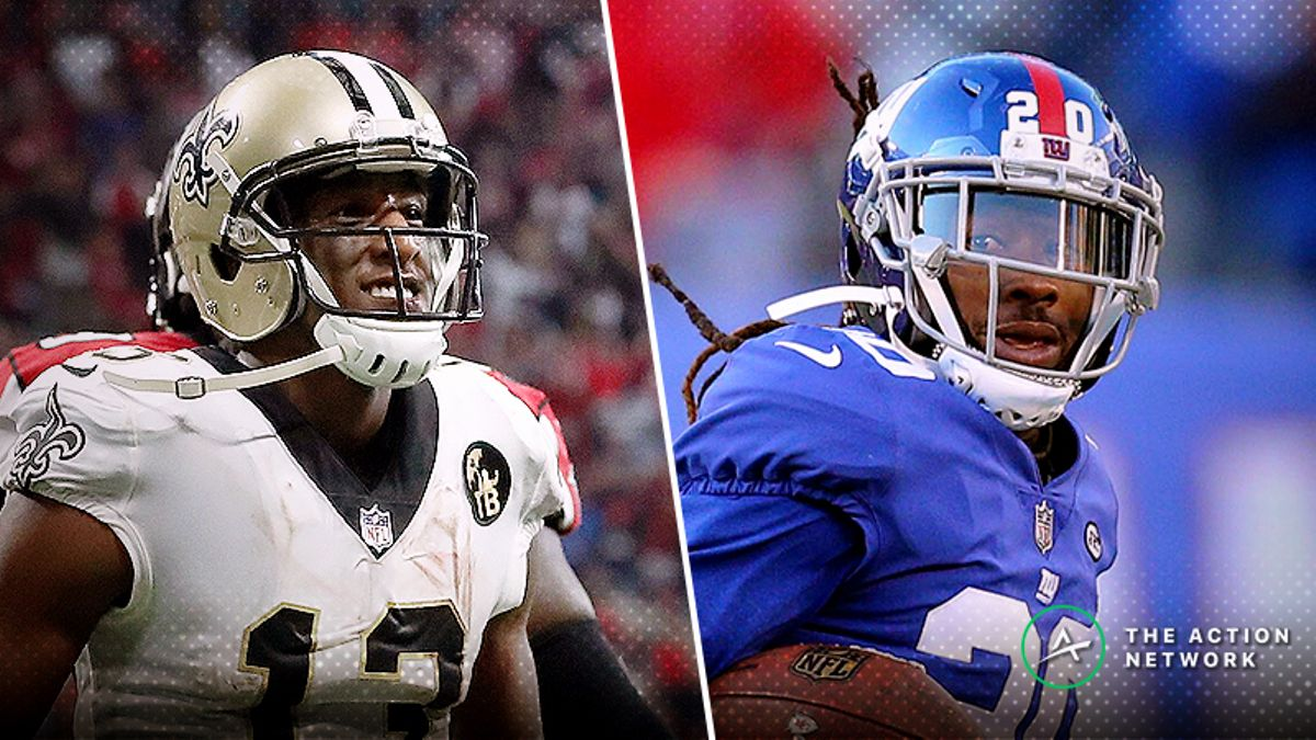 NFL Week 4 WR/CB Matchups: Janoris Jenkins Can't Guard Michael Thomas, More Shadow Dates article feature image