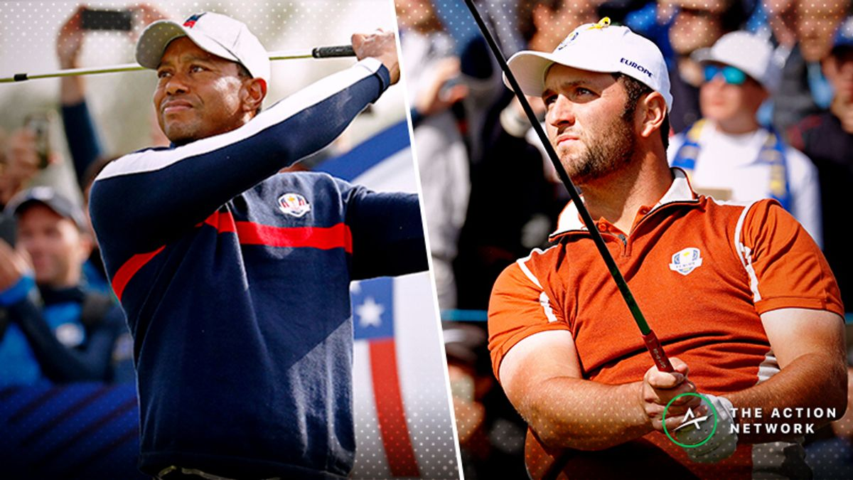 Perry: 2 Ryder Cup Singles Matches With Betting Value, Including Tiger vs. Rahm article feature image
