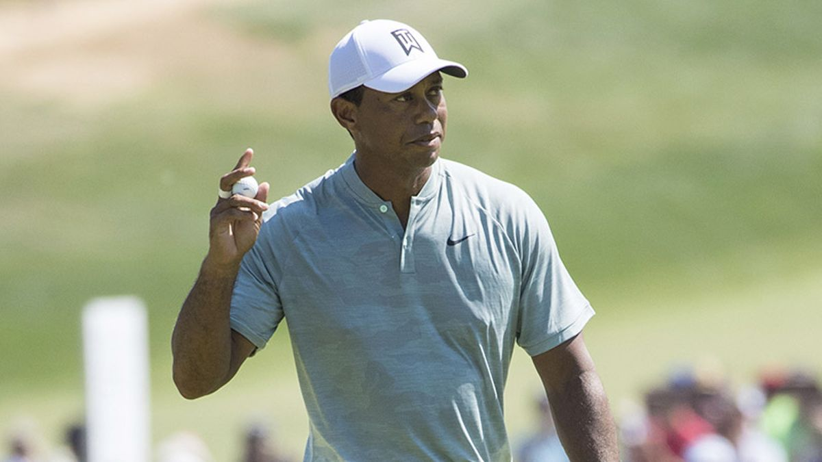 Tiger, Scotty and an Opening-Round 62: Woods' Hot Start at BMW No Fluke article feature image