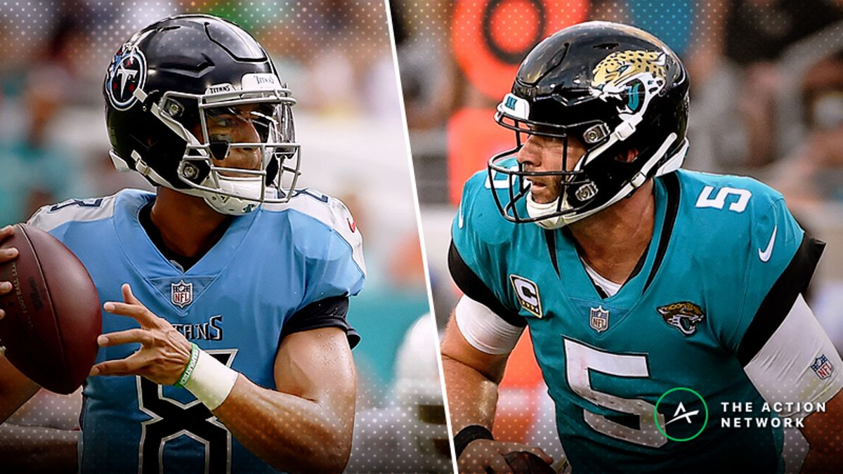 Titans-Jaguars Betting Preview: How to View the Over/Under article feature image