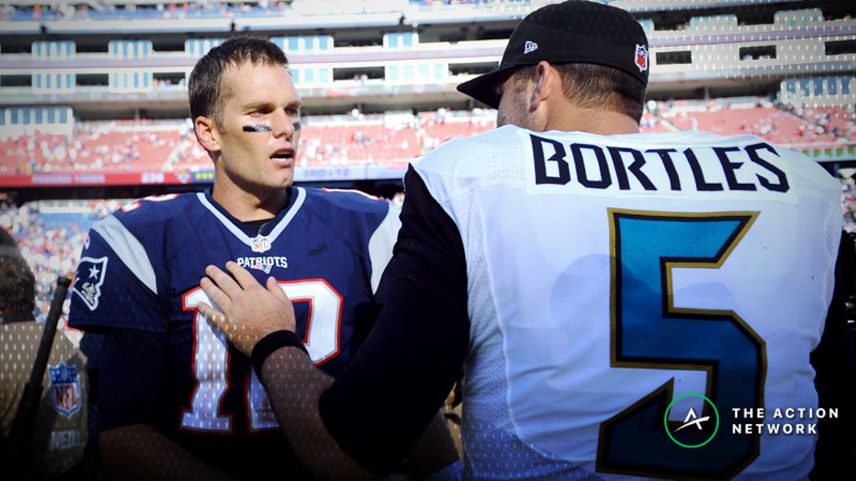 Patriots-Jaguars Betting Preview: Sharps Moving the Market article feature image