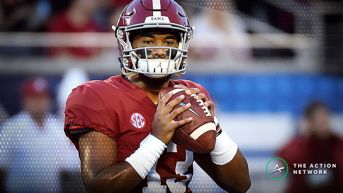 Heisman Odds Watch: Tagovailoa Continues to Pull Away From Pack article feature image