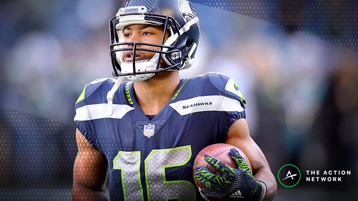 Best Seahawks-Bears MNF Player Props: Tyler Lockett Over/Under 50.5 Receiving Yards? article feature image