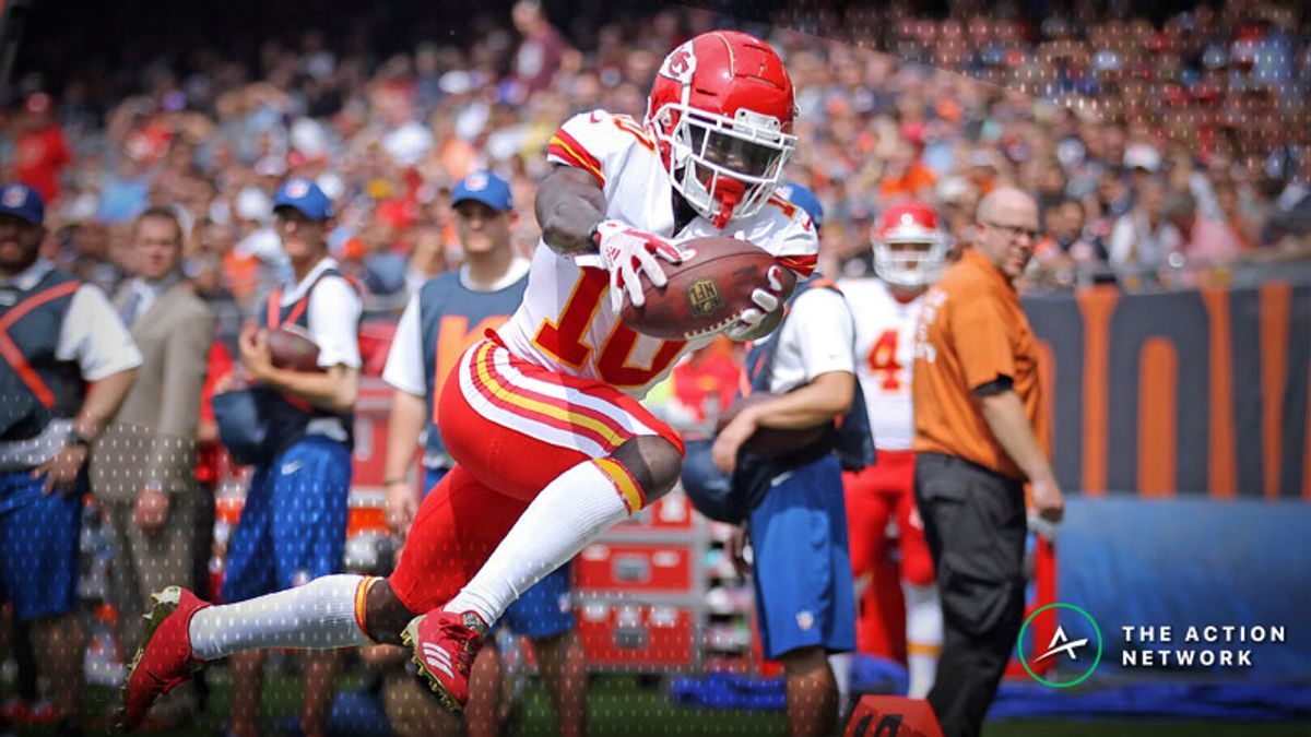 Week 3 Fantasy Football WR Report: Starts, Matchup Downgrades and the Consensus No. 1 article feature image