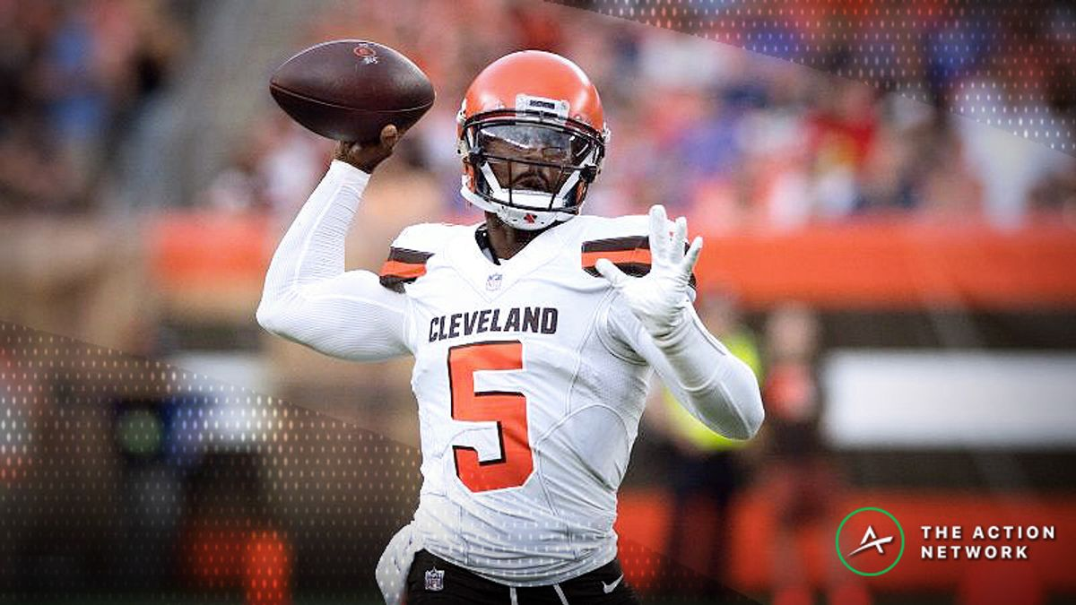 Steelers-Browns Betting Preview: How to Bet This Over/Under article feature image