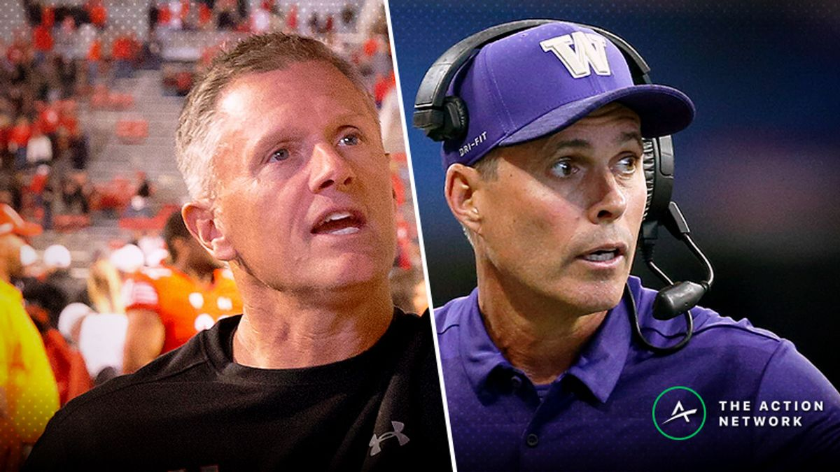 Washington-Utah Betting Guide: Weather Will Make Offenses One-Dimensional article feature image