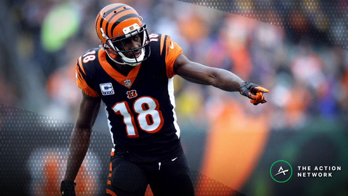 Fantasy Football WR Report: The Bengals' Elite Spot, Plus Other Week 8 Notes article feature image