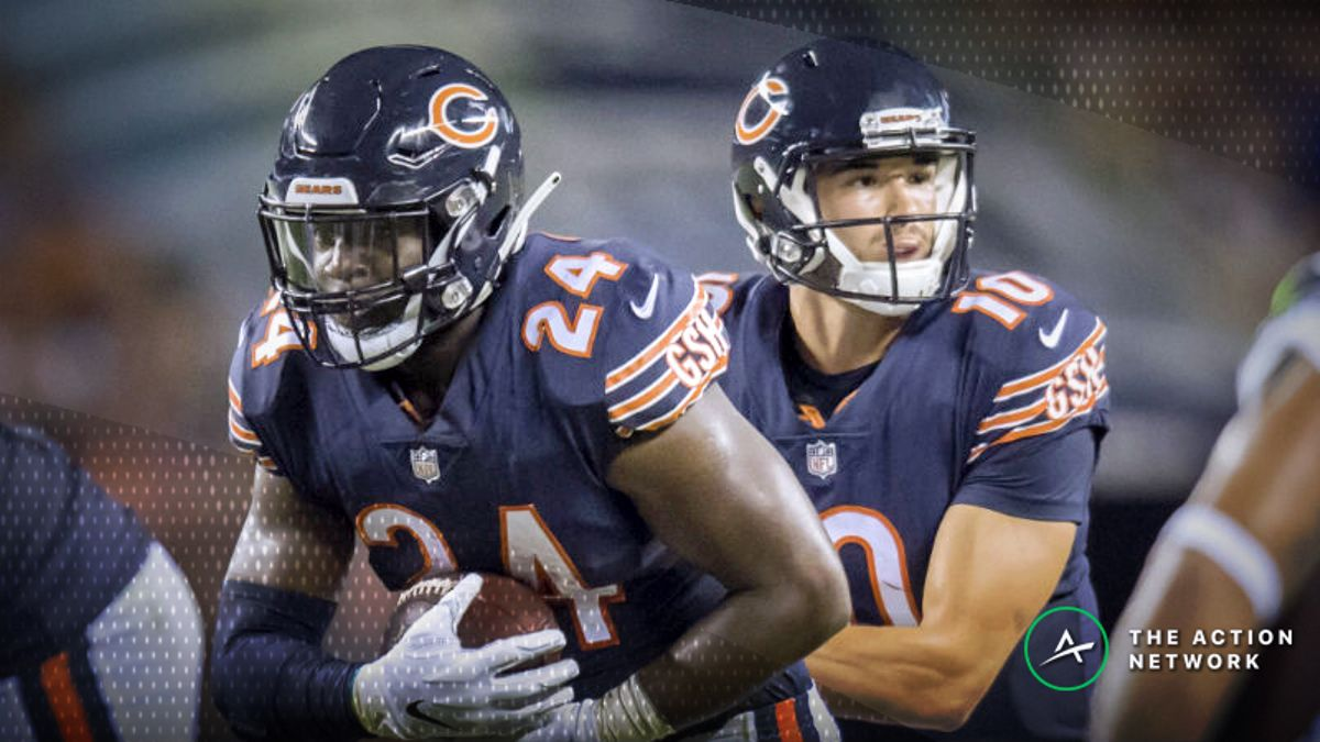 Breezy Forecast Affecting New York Jets-Chicago Bears Week 8 Over/Under article feature image