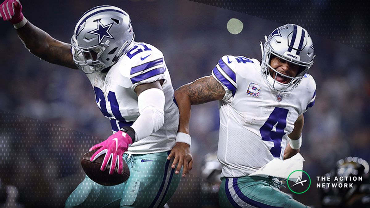 Cowboys-Redskins Betting Preview: Will Prescott & Co. Stay Hot in D.C.? article feature image
