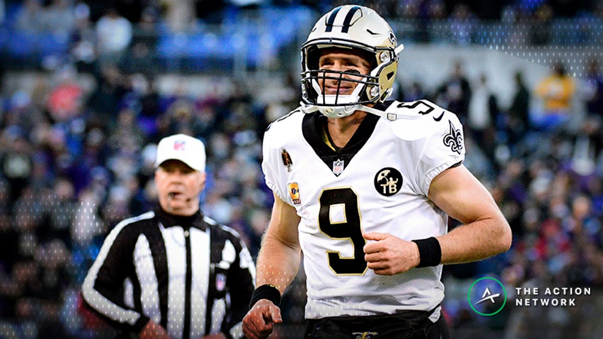 Drew Brees Has Now Covered The Spread vs. All 32 NFL Teams article feature image